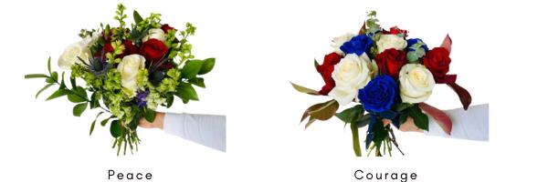 memorial pre-made bouquet for florists