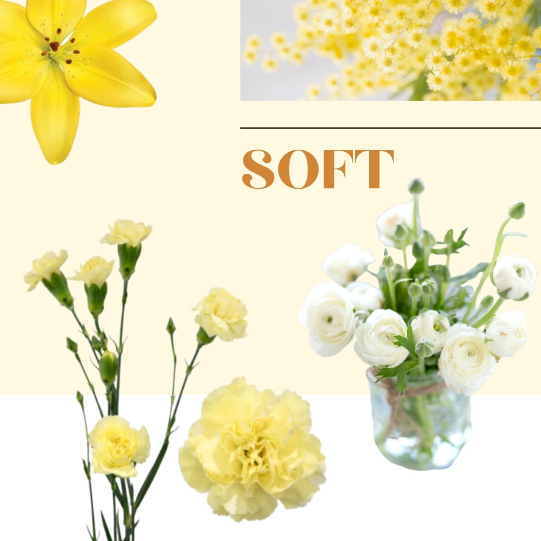 Soft yellow flower inspiration