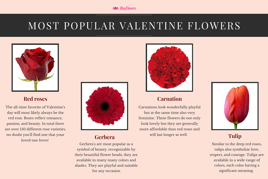 Most popular valentine flowers 2.0