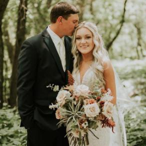 indigorowfloraldesign wedding bouquet creation