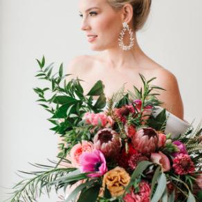 adornnashville's wedding bouquet