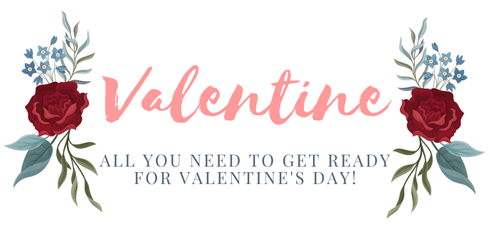 Valentine headers