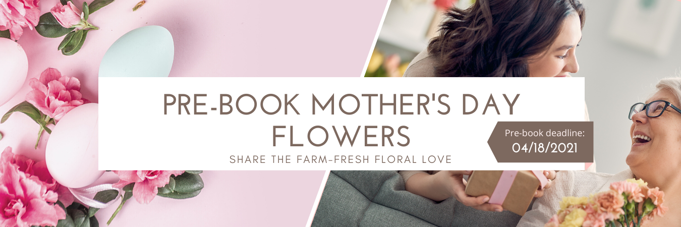 prebook mother's day flowers